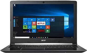 """Acer Aspire 5 15.6"""" FHD 1080 i7-7500U 8GB RAM 1TB HDD Windows 10, Obsidian Black, A515-51-75UY"""