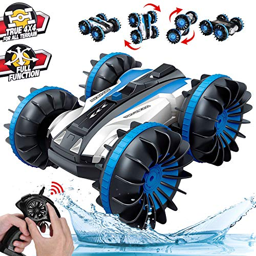 Boys Flip Amphibious Remote Control Car