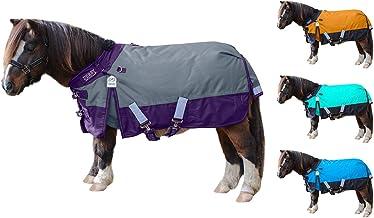 Windstorm Mini Horse & Pony Winter Blanket with 2 Year Warranty - 1200D Waterproof Ripstop Nylon 300g Heavyweight Turnout ...