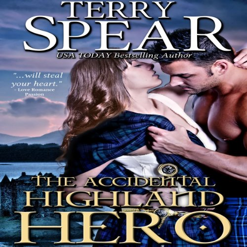 The Accidental Highland Hero audiobook cover art
