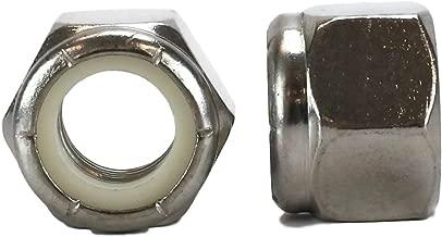 Chenango Supply 18-8 USS 1/2-13 Stainless Nylon Insert Lock Nuts Qty 50 Pieces (Nylock) (1/2-13 Nylock)