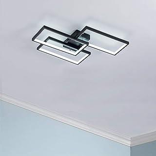 Sponsored Ad - LED Ceiling Light Modern Flush Mount Light Fixture,42W 2600lm Rectangle Lights for Bedroom Kitchen Living R...