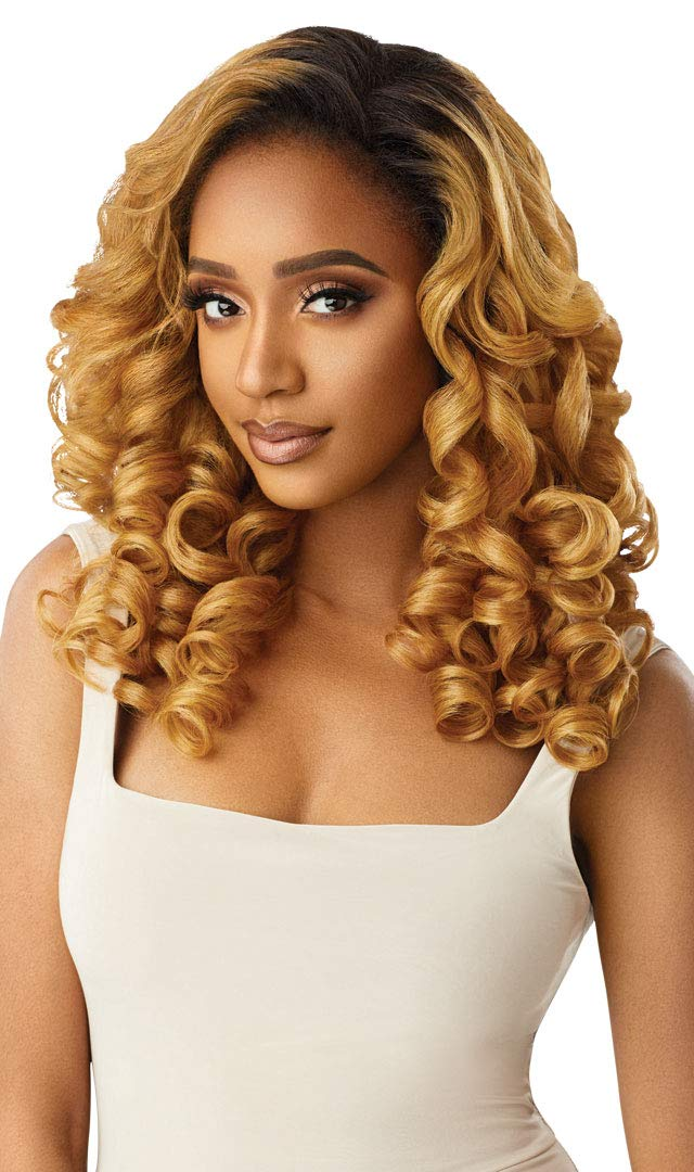 Outre QUICK WEAVE New Half Wig Cap Curly Max 65% OFF Volume B Full Max 74% OFF Long Wave