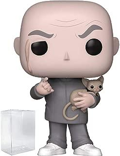 Funko Pop! Movies: Austin Powers - Dr. Evil with Mr. Bigglesworth Vinyl Figure (Includes Pop Box Protector Case)