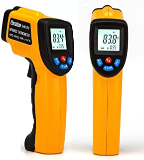 Aleesh Laser Infrared Thermometer Peralng Non-contact Digital Lcd Display Handheld Conversion Accurate Temperature Gun