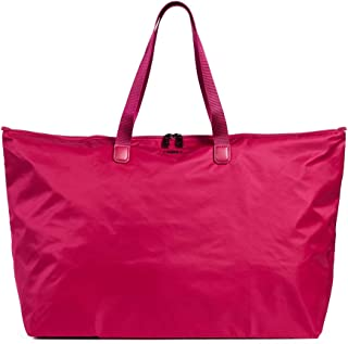 Voyageur Just In Case Tote Bag - Lightweight Packable Foldable Travel Bag for Women
