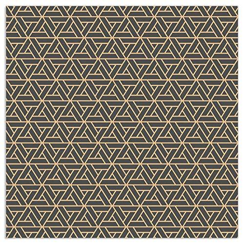 ARTEBENE Serviette Papierserviette Finest Gold Muster Tissue | 33 x 33 cm | 20 Stück | 3-lagig | Hochwertige Serviette für Feiern, Geburtstage, Kaffee und Kuchen