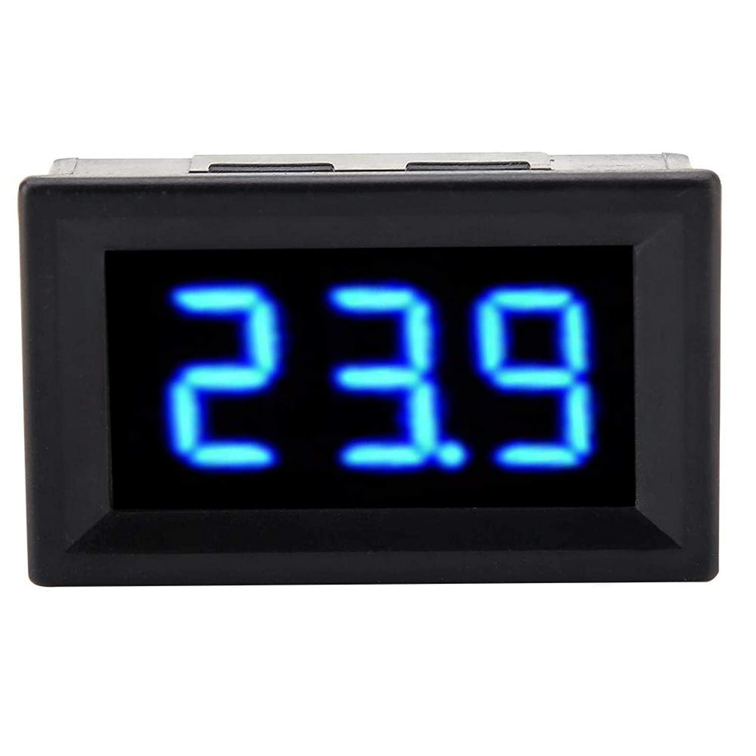 Mini Digital Voltmeter Two Be super welcome Measured V Waterproof Wire Lowest price challenge