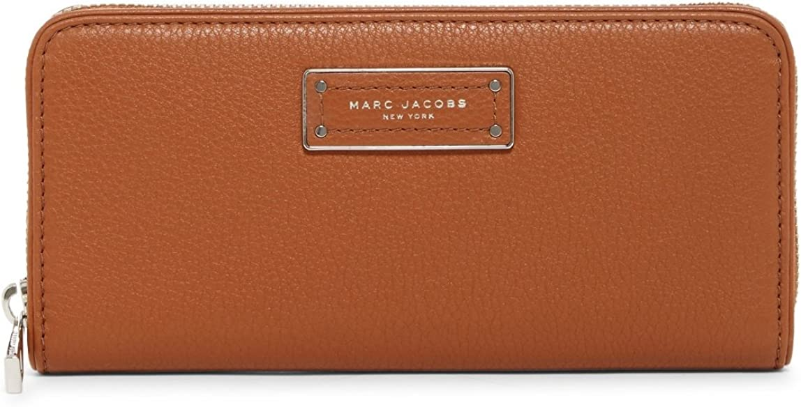 Marc Jacobs Too Hot To Handle Leather Continental Wallet, Maple Tan