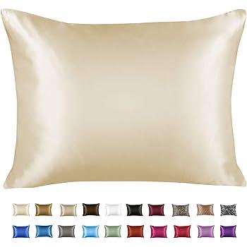 Sweet Dreams Luxury Satin Pillowcase/Fundas para almohada with Zipper, King Size, Jaguar Print (Silky Satin Pillow ...