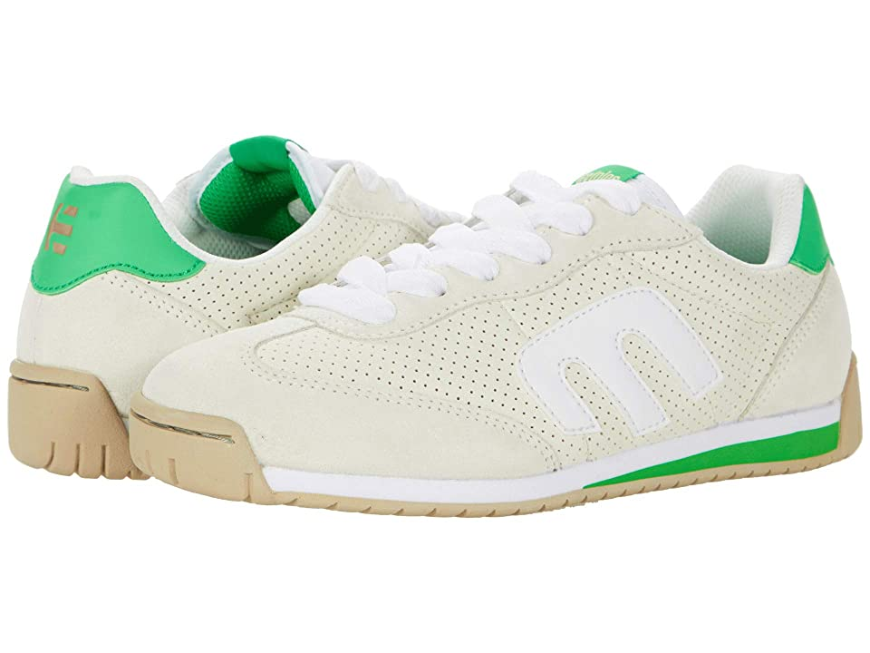 etnies Lo-Cut Cb (White/Green) Women's Skate Shoes