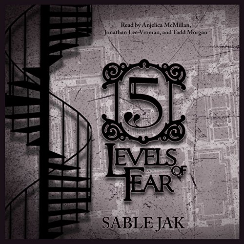 5 Levels of Fear audiobook cover art