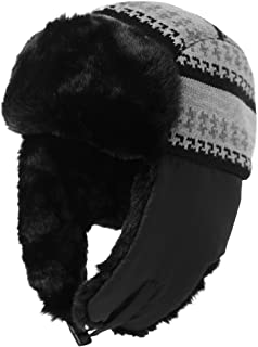 8b16b8c29 Amazon.co.uk: Black - Bomber Hats / Hats & Caps: Clothing