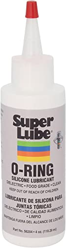 Super Lube 56204 O-Ring Silicone Lubricant, Clear