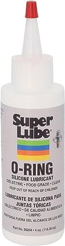 Super Lube 56204 Lubrifiant silicone pour joint torique, transparent