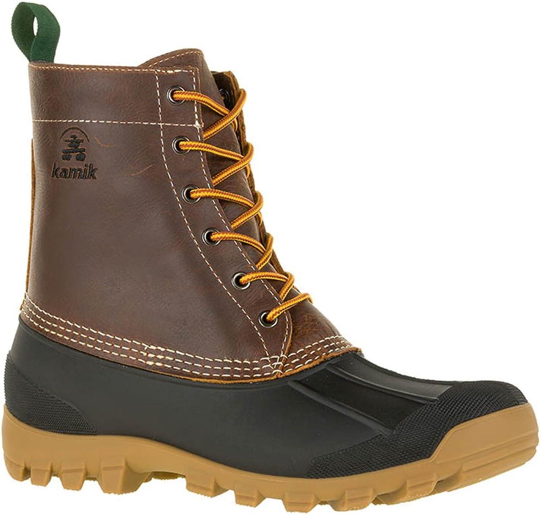 Kamik Yukon 6 Men Men Round Toe Leather braun Hunting Stiefel (9 D(M) US, Dark braun)  70% Rabatt