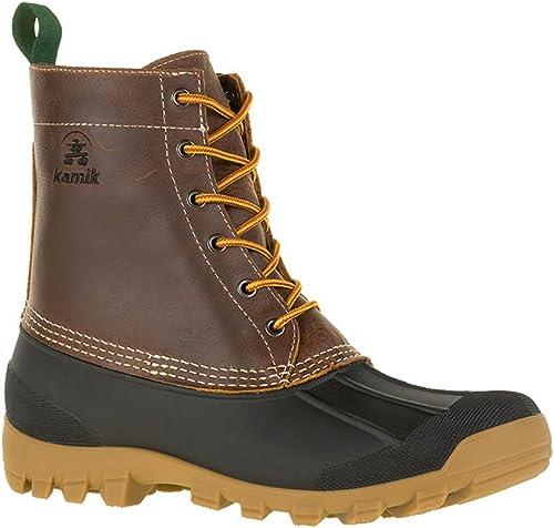 Kamik Yukon 6 Men Round Toe Leather marrón Hunting botas (12