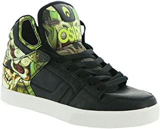 osiris shoes green and black