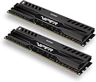 Patriot Memory Viper3 Series DDR3 1866MHz PC3-15000 16GBキット (2 x 8GB) デスクトップ用メモリ CL10 永久保証 PV316G186C0K [並行輸入品]