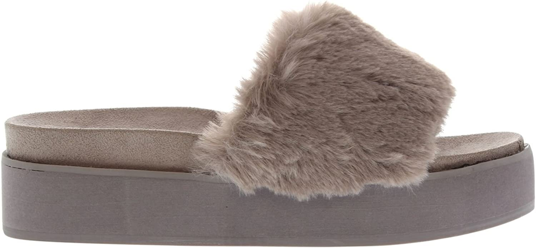 Steve Madden Damen Dreamy Sandale Sandaletten Grau 5.5