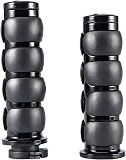 Amazon com: SaiDeng Black Motorcycle Handlebar Grips with