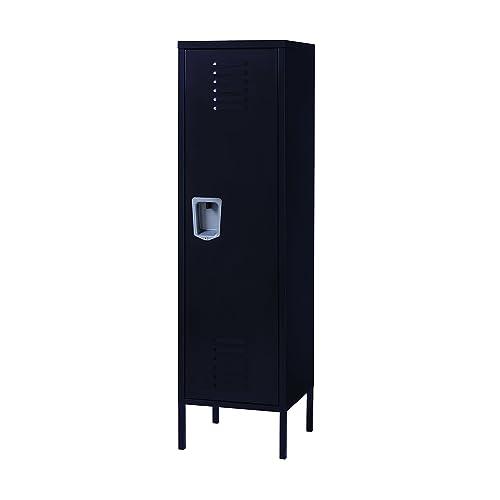 Office Dimensions Personal Locker Storage Cabinet, Black (21898)