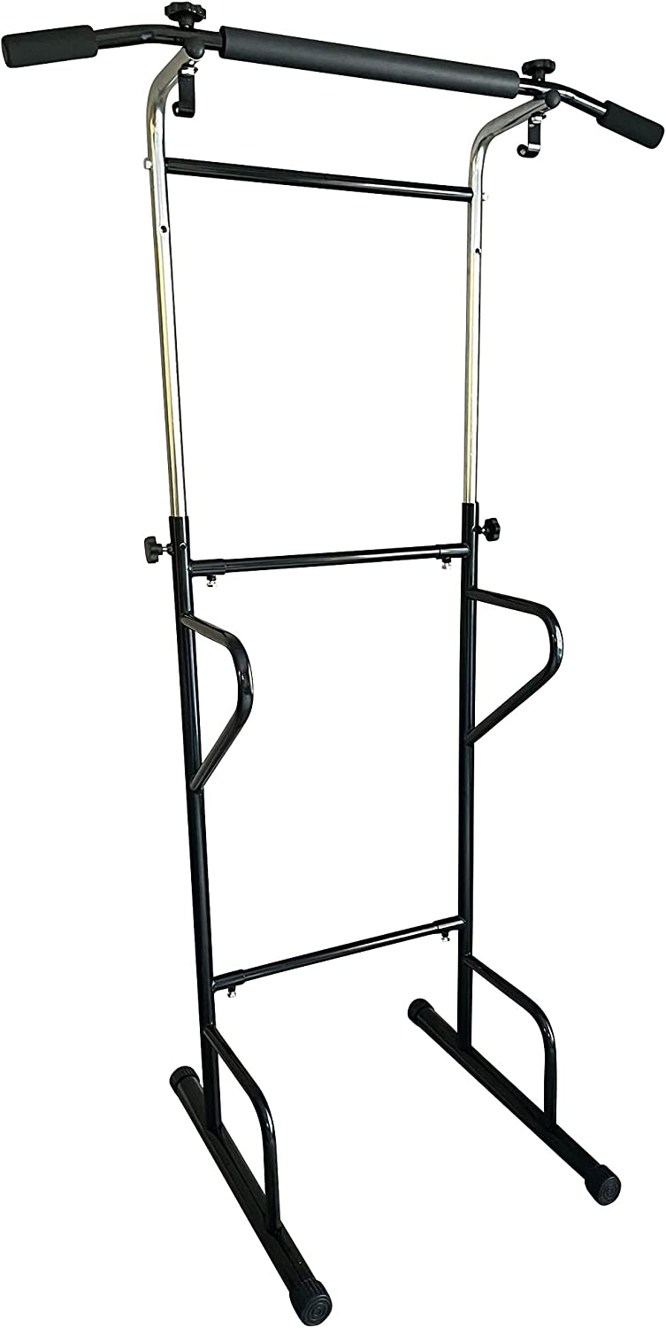 Power Austin Mall Tower Dip Pull Up Station Limited time sale Home Bar Multi-Function