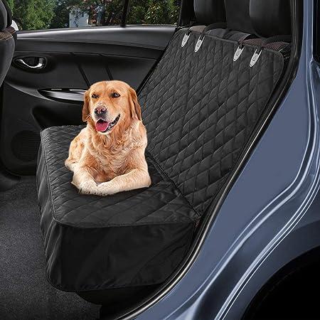Vivaglory Hundedecke Rückbank Wasserfester Rücksitz Sitzbezug Autoschondecken Für Hunde Kofferraum Wasserdicht Und Rutschfest Grau S Haustier