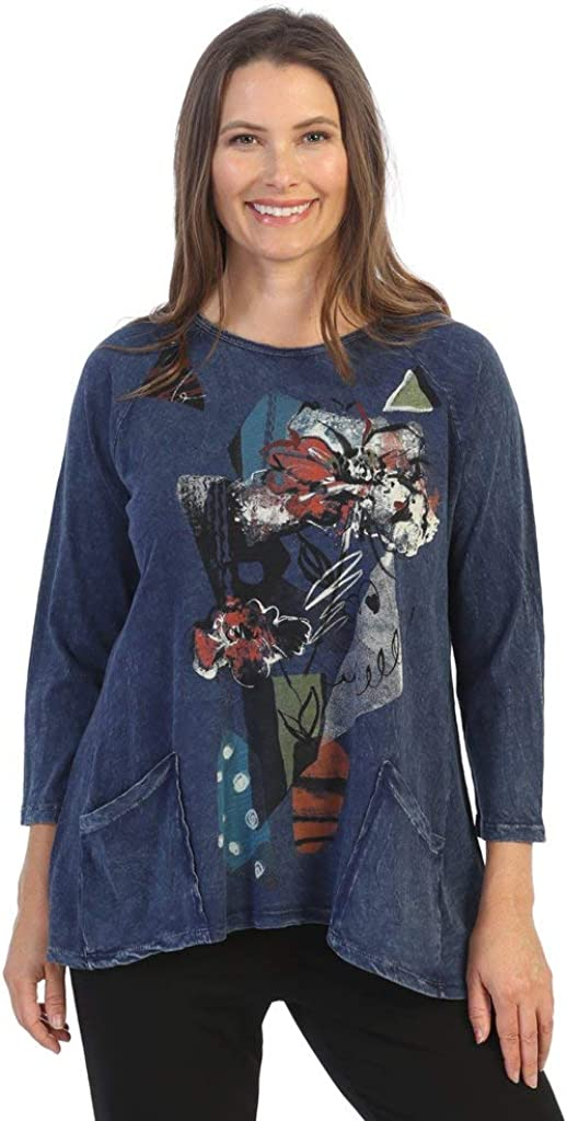 sold out Jess Jane Women's Felicity Mineral Cotton Pocket Washed Baltimore Mall Patch