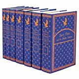 Juniper Books Harry Potter Ravenclaw House Boxed Set   Seven-Volume Hardcover Book Set with Custom Designed Dust Jackets   Author J.K. Rowling