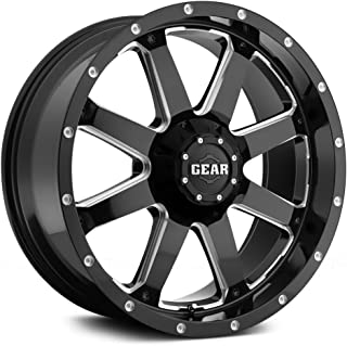 Gear Alloy 726MB BIG BLOCK Wheel with Milled Finish (18x9
