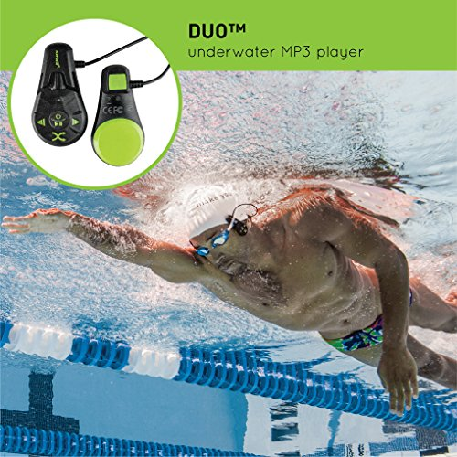 FINIS Duo Underwater Bone Conduction MP3 Player - Finis Duo Underwater MP3 Player Review