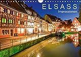 E L S A S S Impressionen (Wandkalender 2019 DIN A4 quer): Das Elsass in 13 faszinierenden Aufnahmen (Monatskalender, 14 Seiten ) (CALVENDO Orte)