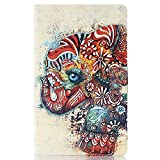 Bfun Packing Colorful Tribal Elephant Slim Leather Cover Case for Samsung Galaxy Tab S 8.4