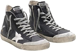 Golden Goose Deluxe Brand Francy Mens Sneakers in Black G34MS591.B67-44 Color: Black