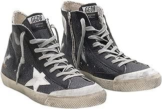 Golden Goose Deluxe Brand Francy Mens Sneakers in Black G34MS591.B67-42 Color: Black