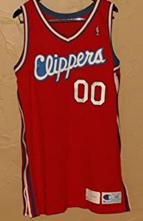 1990 Benoit Benjamin, Los Angles Clippers, Game Worn Jersey - NBA Game Used Jerseys