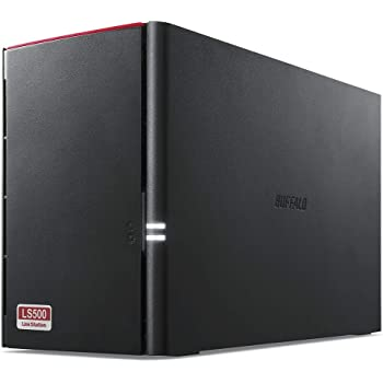 BUFFALO NAS スマホ/タブレット/PC対応 ネットワークHDD 4TB LS520D0402G 【同時アクセスでも快適な高速モデル】