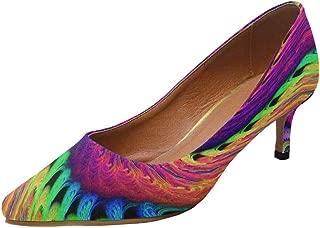 Women's Low Heel Stiletto Lady Dress Pump Shoes