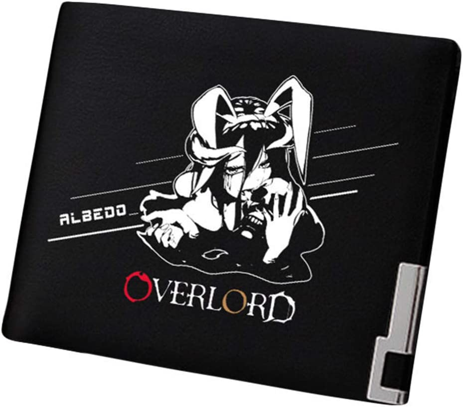 Gumstyle Overlord Anime Artificial Leather Wallet Billfold Money Clip Bifold Card Holder 9
