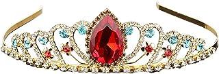 Lurrose Coronas de la vendimia Tiaras Coronas de boda Tiaras Corona nupcial Princesa nupcial Corona Corona de la reina