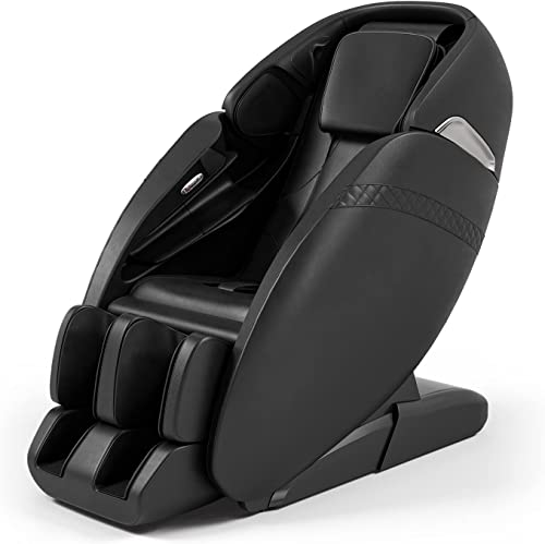 lowest Giantex Full Body Massage Chair, SL wholesale Track Massage Recliner new arrival Zero Gravity W/Negative Ion Generator, 3D Digital Audio, Auto Shoulder Detector, Airbags, Back Heater, Shiatsu Sofa (Black) online sale