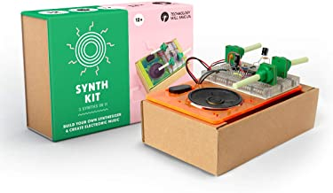 Tech Will Save Us Synth Kit | Educational Electronic Science Technology Music STEM Toy, Gift for Boys, Girls, Kids Ages 13...