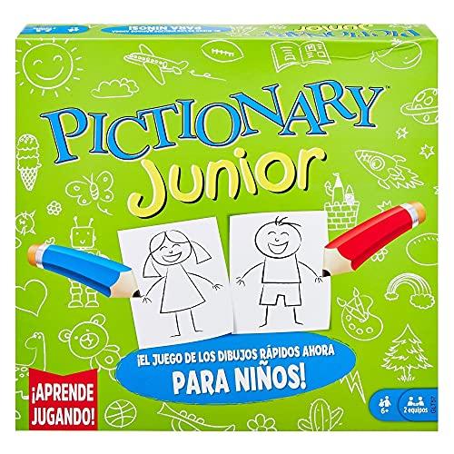 Mattel Games Pictionary Juegos de Mesa Pictionary Junior +6 años