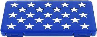 iEay Boîtes de Rangement pour Masques, étui à Masque, Boîtes de Rangement pour Masques, Portable Boîte de Transport (Blue)