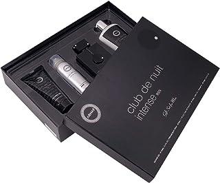 Armaf Club De Nuit Intense Man, 4 Piece Gift Set, CDN Intense Man EDT - 105ml, Perfumed Body Spray - 50ml, Shampoo - 250m...