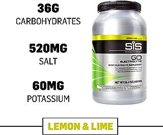 Science in Sport Go Electrolyte Energy Drink Powder, Lemon & Lime, 3.52 Pound