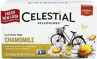 Celestial Seasonings Natural Herbal Tea, Chamomile 20 Ea