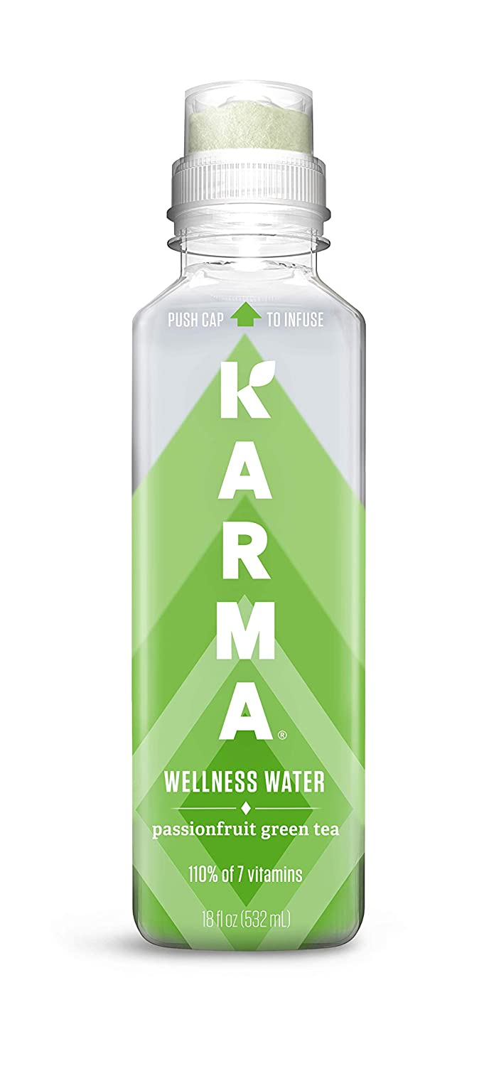 Karma Wellness Flavored Vitamin Water Green 1 Limited Special Max 40% OFF Price Tea Passionfruit