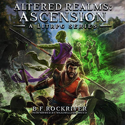 Altered Realms Audiobook By B.F. Rockriver cover art